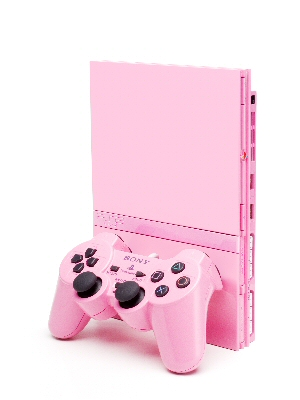 Pink PS2