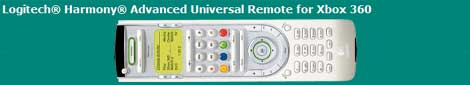 Harmony Advanced Universal Remote for Xbox 360