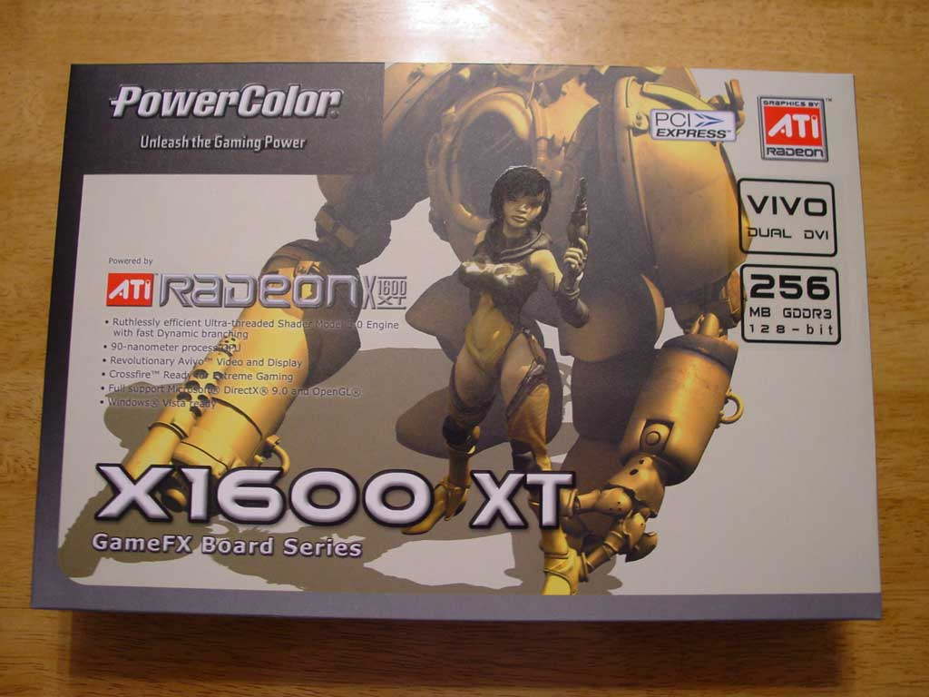 PowerColor X1600 XT Bravo Edition