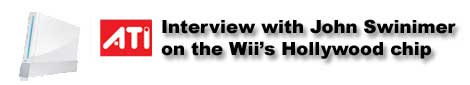 Interview with John Swinimer on the Wii