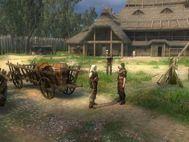 The Witcher Interview
