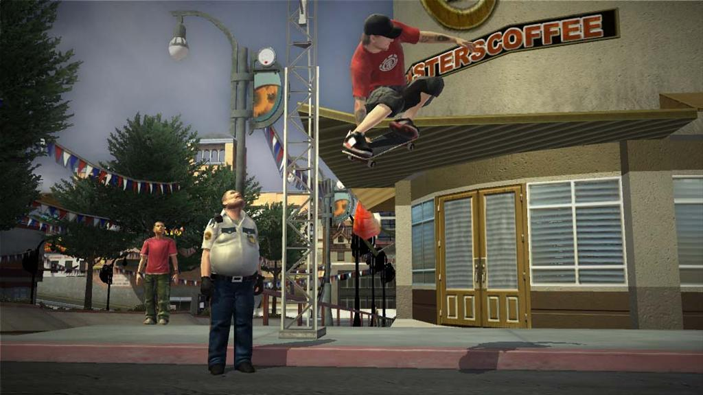 Tony Hawk Project 8 Screenshots