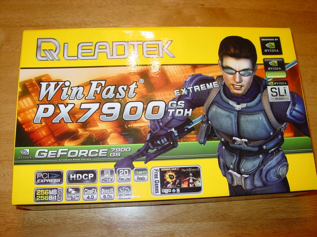 Leadtek WinFast PX7900 GS TDH Extreme