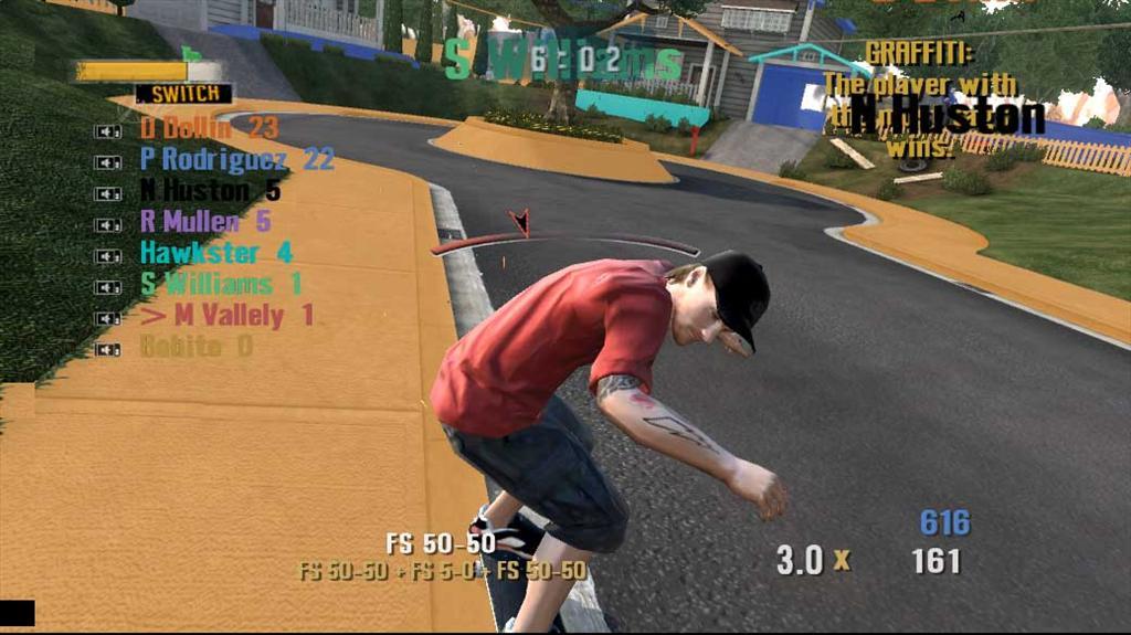 Tony Hawk Project 8 Screenshots