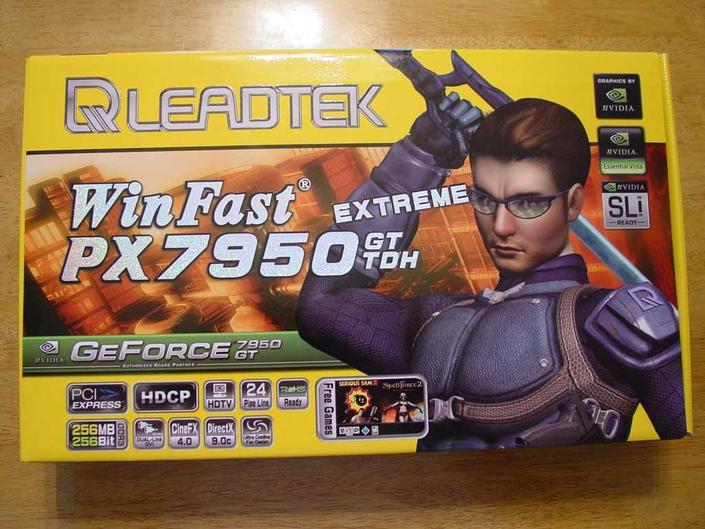 Leadtek WinFast PX7950 GT TDH Extreme