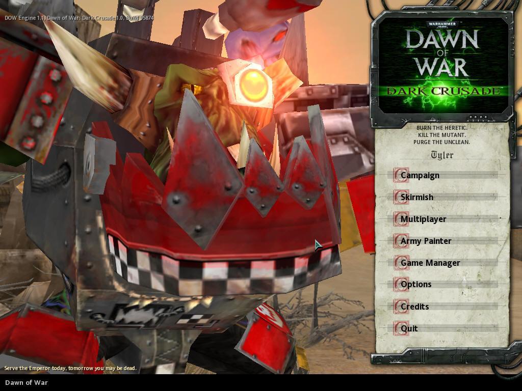 Warhammer - Dark Crusade
