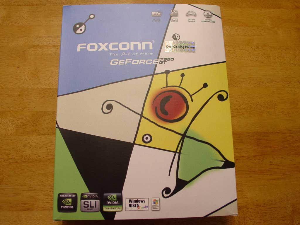 Foxconn GeForce 7950GT OC