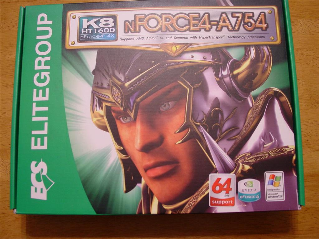 ECS nForce4-A754