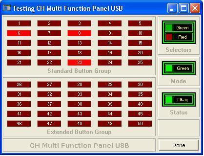 CH Multi Function Panel