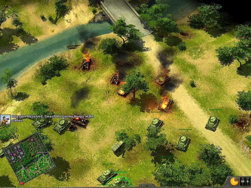 Blitzkrieg 2:Fall of the Reich Screenshots