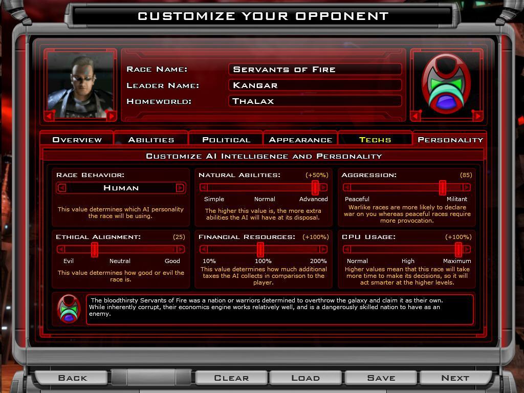 Galactic Civilizations II: Dark Avatar Hands On