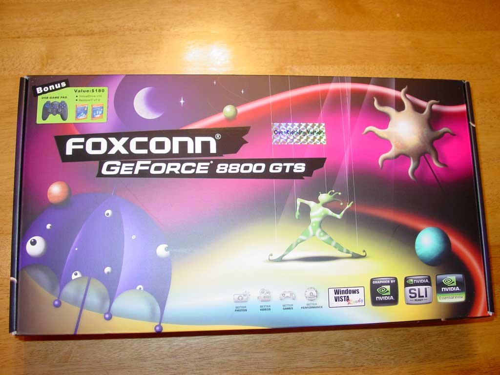 Foxconn GeForce 8800 GTS 320MB OC