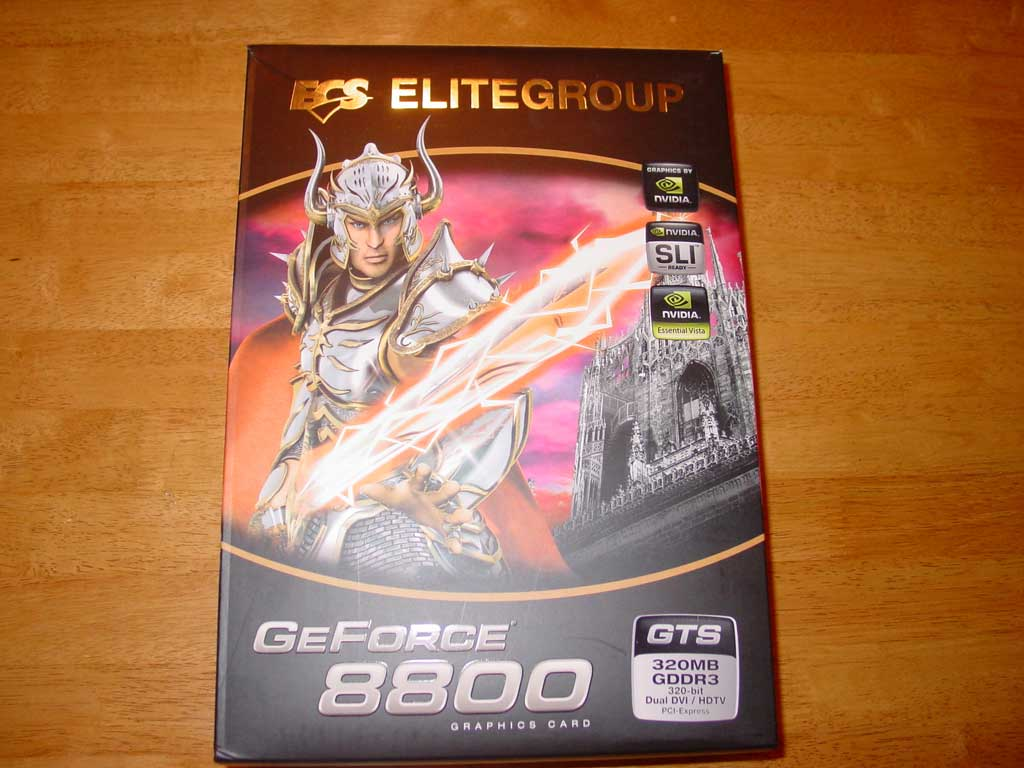 ECS GeForce 8800 GTS 320MB