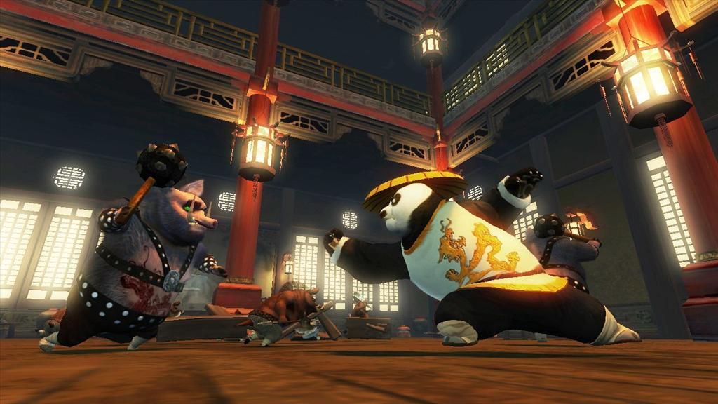 Kung Fu Panda Hands On