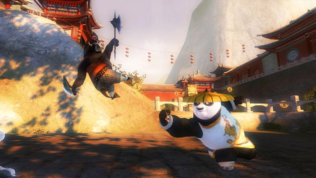 kung fu panda xbox 360 2 player