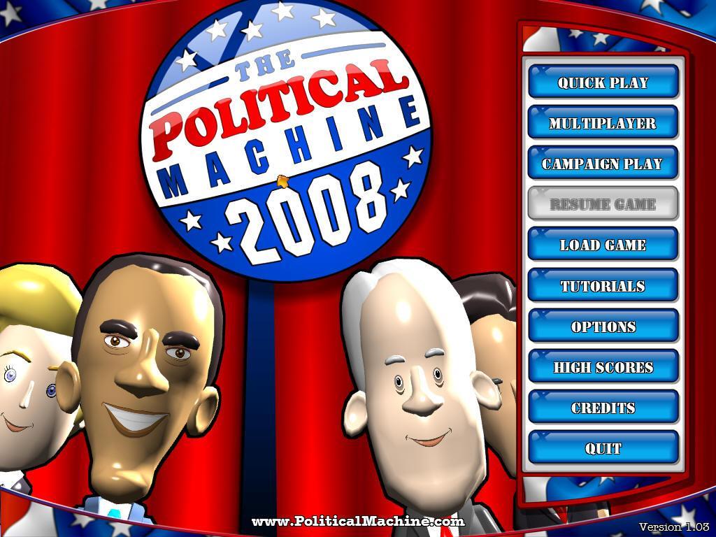 political machine 2008