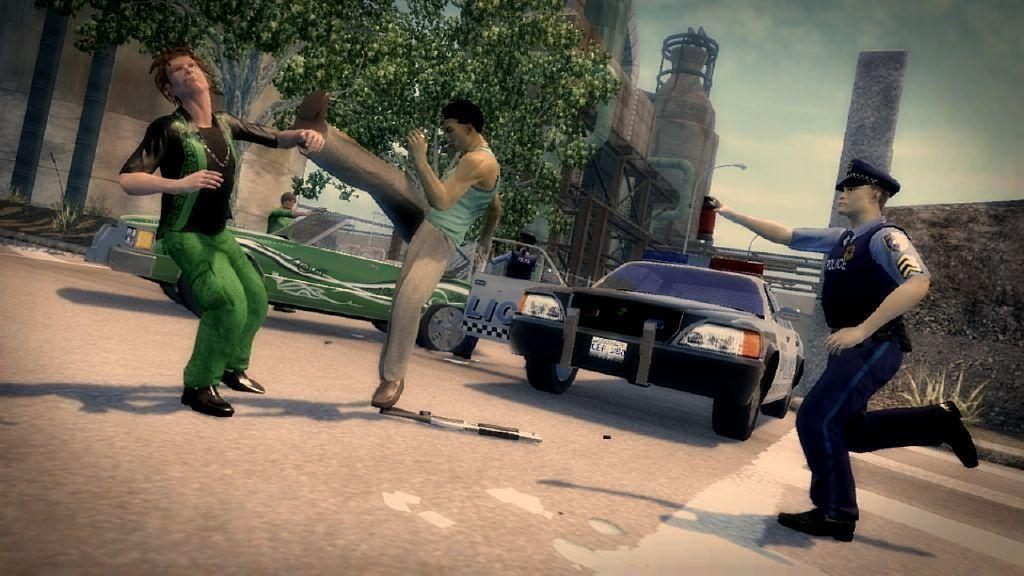 Saints Row 2, after all this finger-pointing of what it's not, is indeed fun