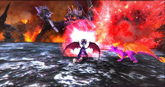 скачать игру The Legend Of Spyro Dawn Of The Dragon на русском языке - фото 8