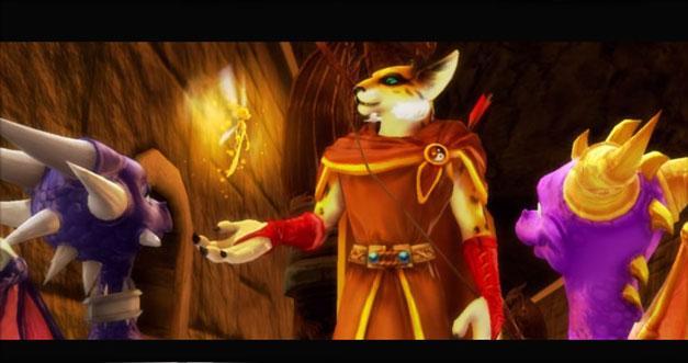 скачать игру The Legend Of Spyro Dawn Of The Dragon на русском языке - фото 10