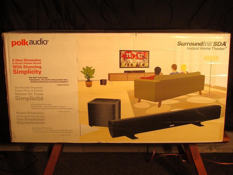 SurroundBar Instant Home Theater