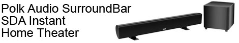 SurroundBar Instant Home Theater