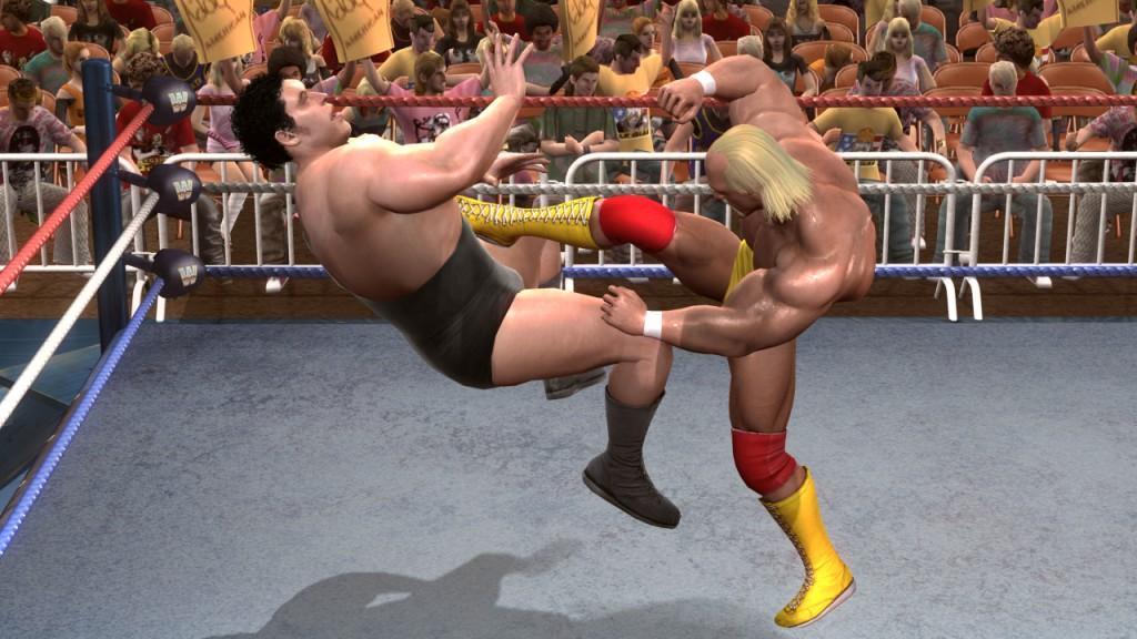 Wwe Legends Of Wrestlemania Review Gaming Nexus