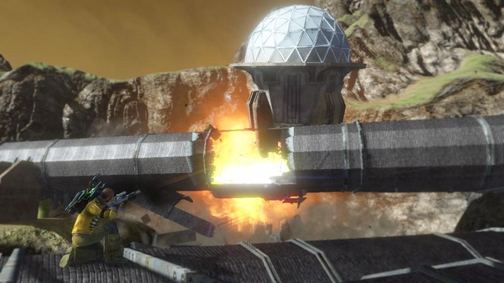 Pawafuru Engine Faction System: Red Faction: Guerrilla Multiplayer Preview Preview