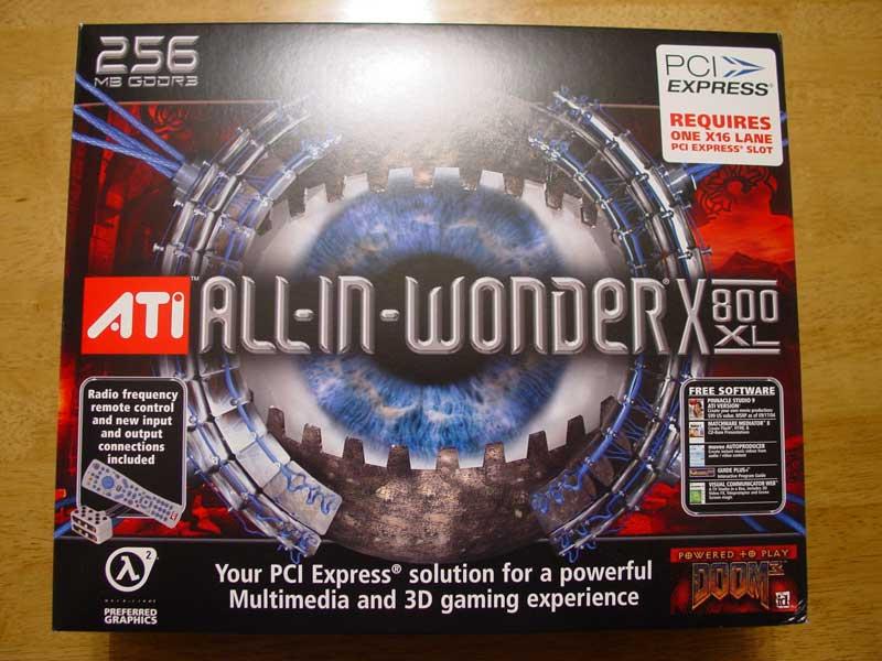ATI All-in-Wonder X800 XL