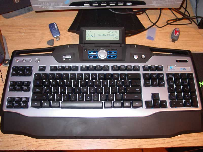 Logitech G15 Gaming Keyboard Review Gaming Nexus