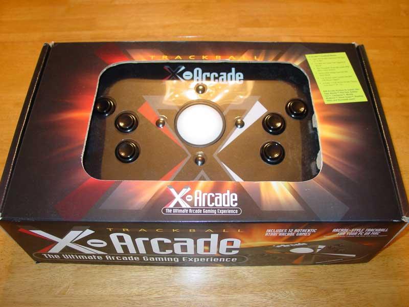 X-Arcade Trackball Mouse