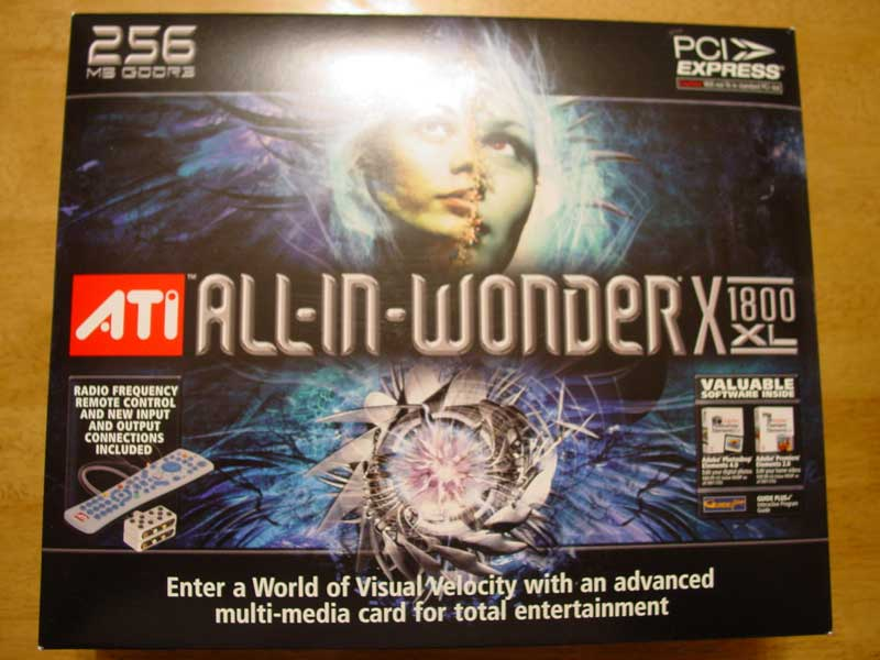 ATI All-in-Wonder X1800 XL