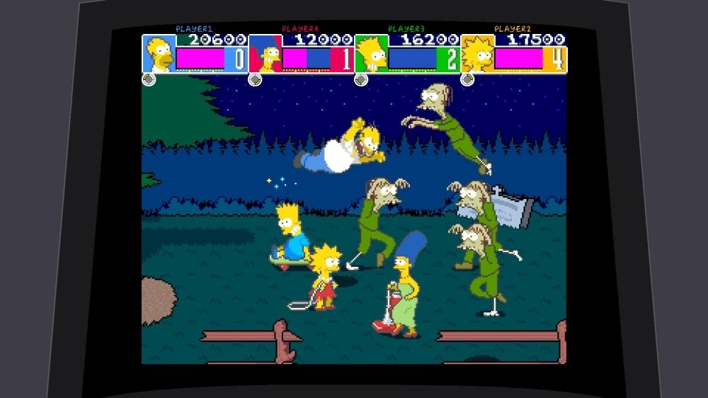 The Simpsons Arcade Game Review Gaming Nexus