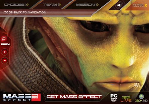 First Silverlight Ad Campaign - Mass Effect 2