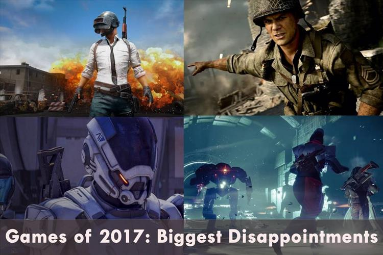 Games of 2017: Biggest Disappointments (that isn't Battlefront II)