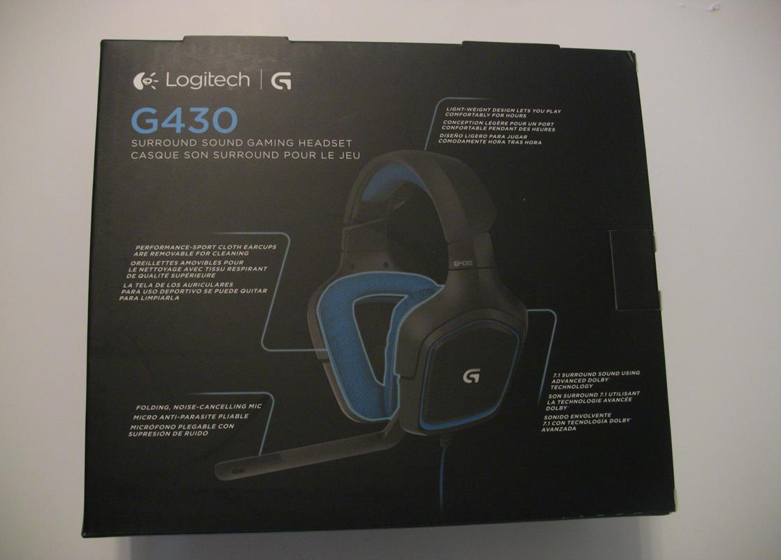 Logitech G430 Review - Gaming Nexus