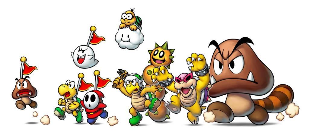 Mario and Luigi: Superstar Saga + Bowser's Minions