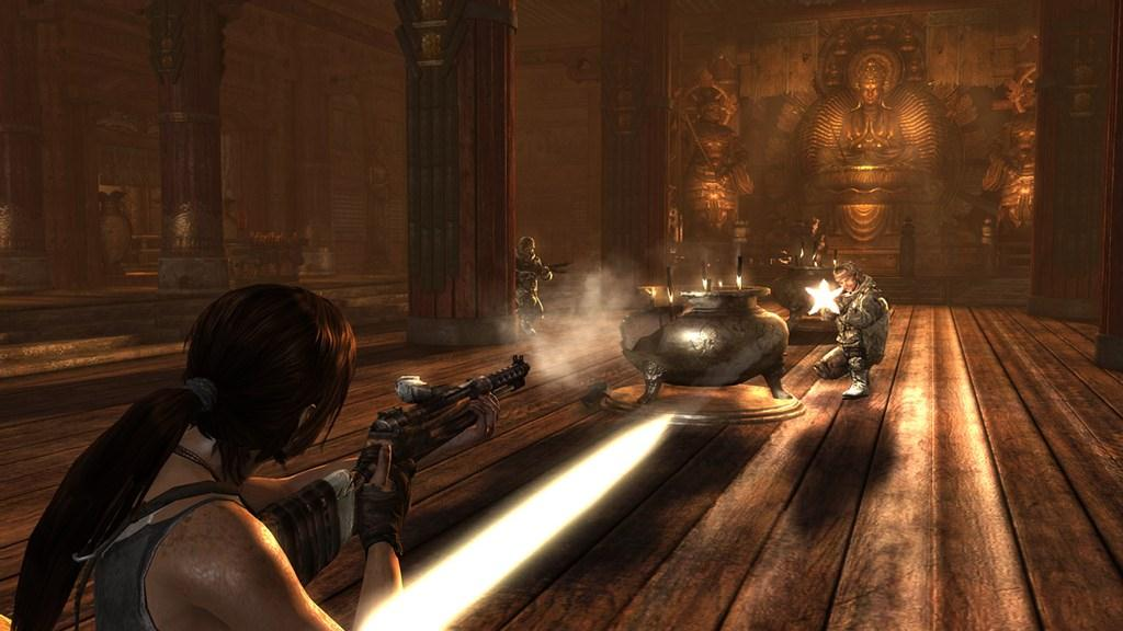Reinventing Lara Croft