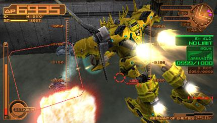Armored Core 3 Portable Review Gaming Nexus