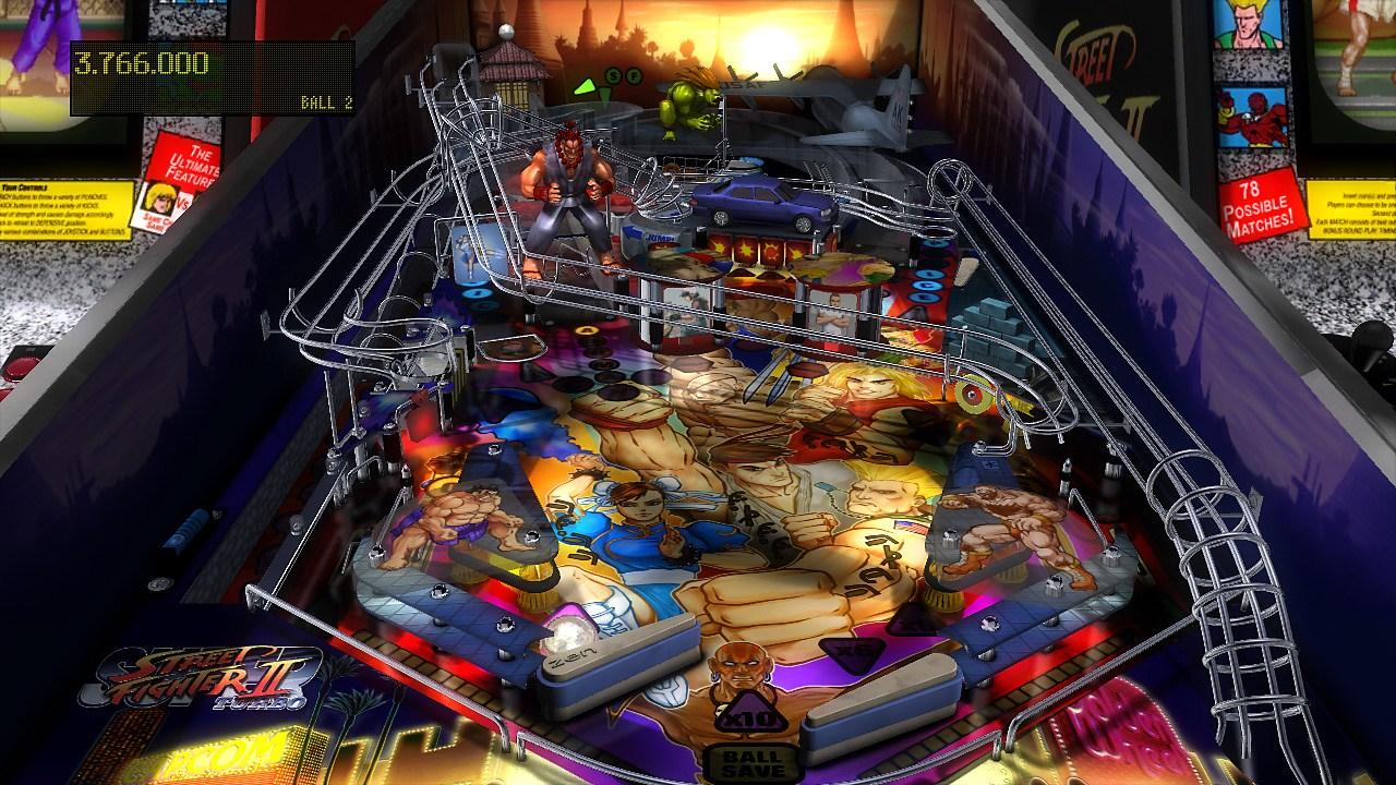 ZEN Pinball Street Fighter II Tribute