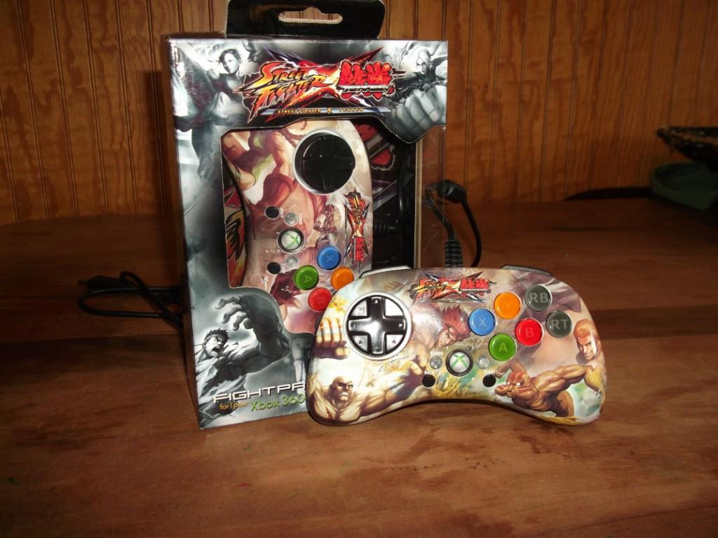 Mad Catz Street Fighter X Tekken FightPad SD