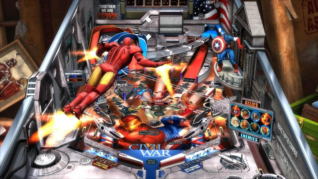 Marvel Pinball: Civil War