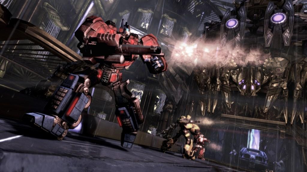 Transformers: War for Cybertron Interview