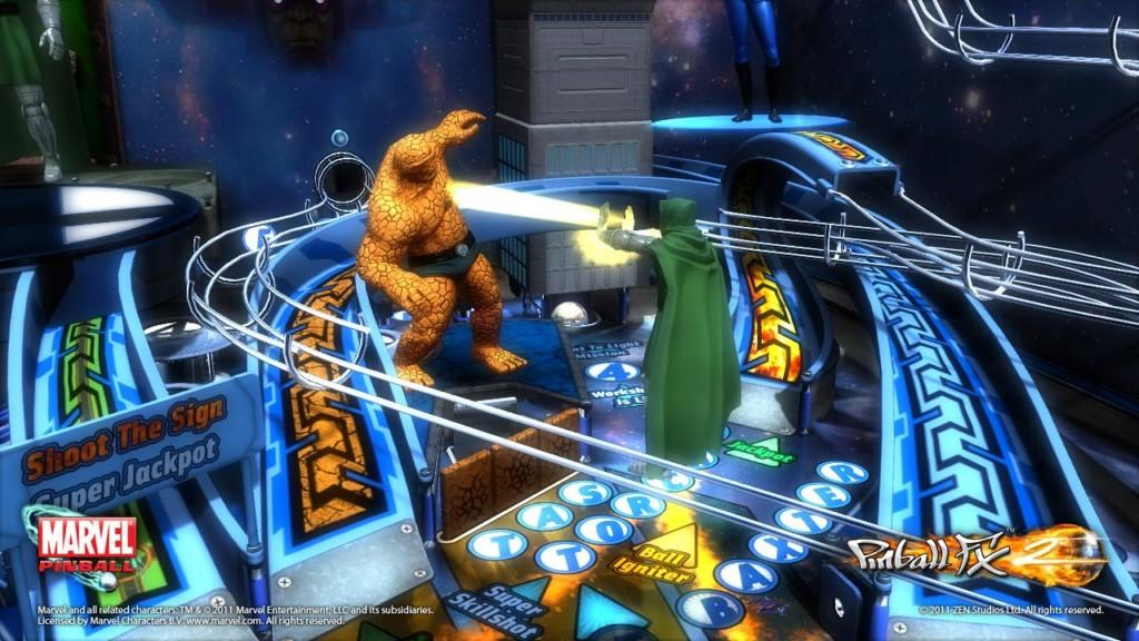 Marvel Pinball Fantastic Four