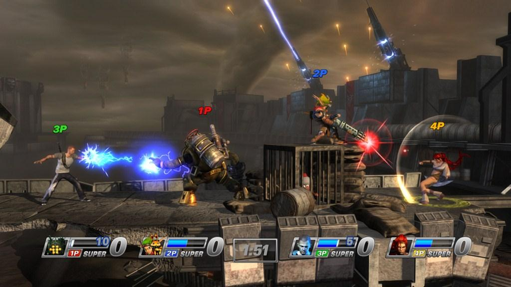 PlayStation All-Stars Battle Royale Review - Gaming Nexus