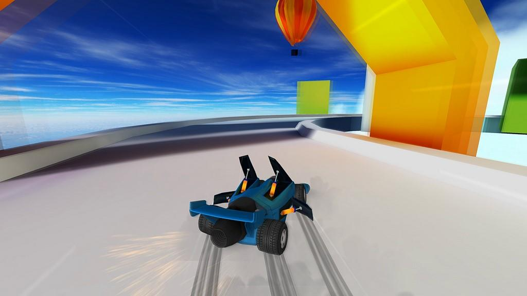 Jet car stunts review gaming nexus for Jet cars review