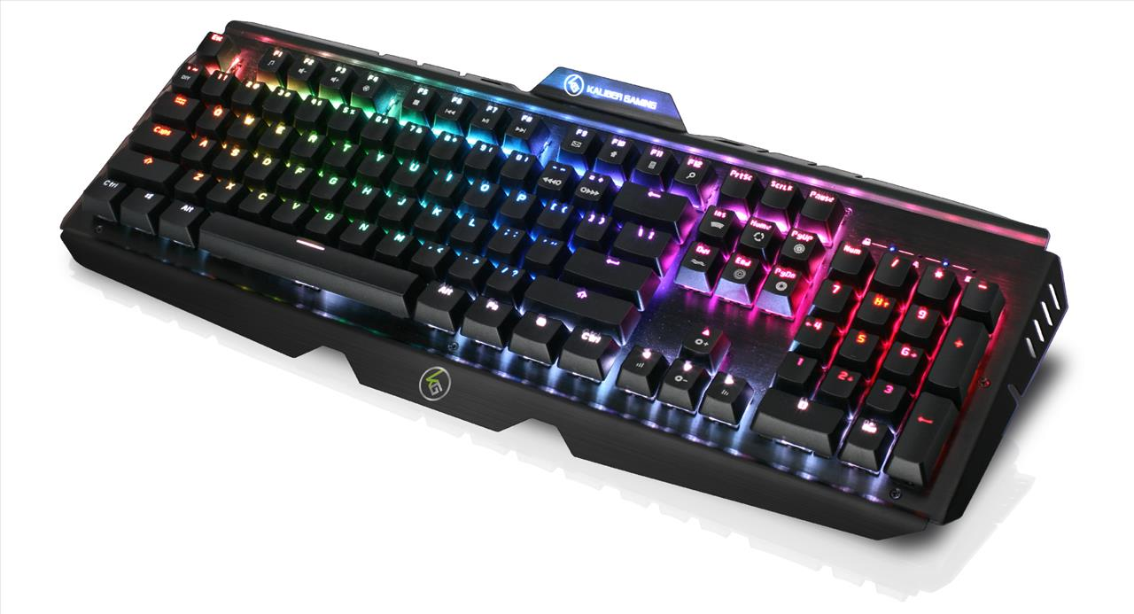 IOGEAR HVER PRO RGB Mechanical Gaming Keyboard