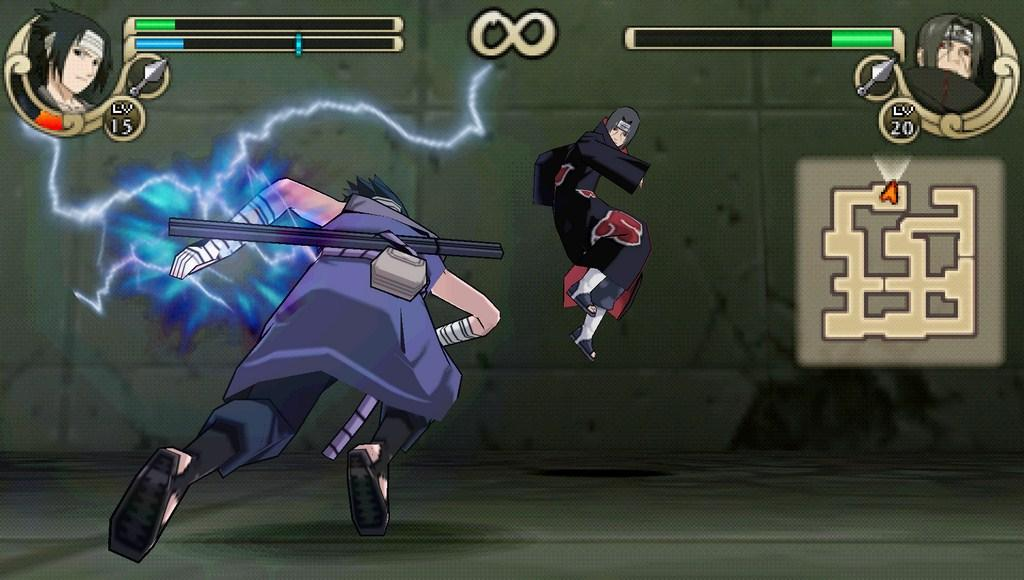 download naruto ultimate ninja impact ppsspp iso
