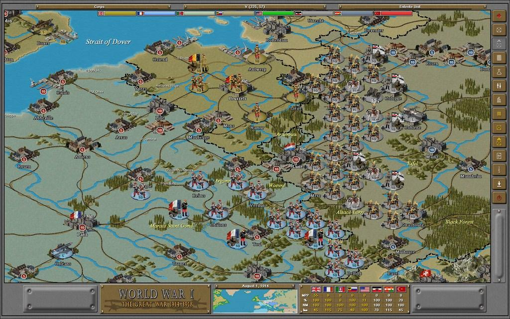 Strategic command wwi 1914 1918 the great war review gaming nexus strategic command wwi 1914 1918 the great war gumiabroncs Image collections