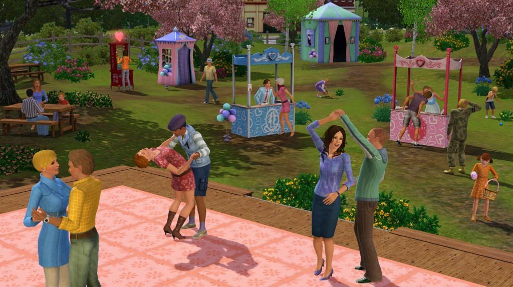 the sims 3 seasons review gaming nexus. Black Bedroom Furniture Sets. Home Design Ideas