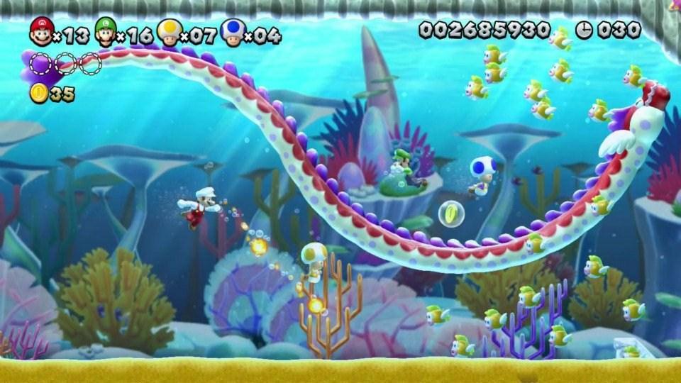 New Super Mario Bros  U Review - Gaming Nexus